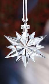 swarovski crystal 2017 annual edition large christmas ornament