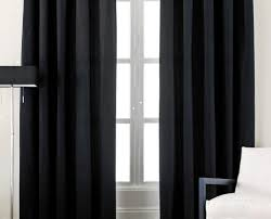 Striped Living Room Curtains by Curtains Superior Eye Catching Black And Red Curtains For Living