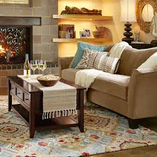 diamond scroll rugs from pier one like the rug sofa color style
