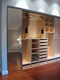 pull down closet rods in laundry room and master closet
