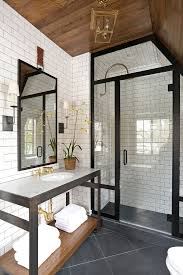subway tile in bathroom ideas 43 best subway tile bathrooms images on bathroom