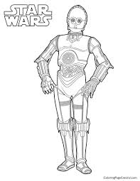 star wars coloring page central