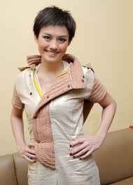 short woman hairstyles agnes monica hairstyle photo background
