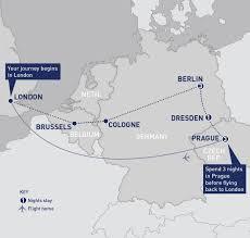 Dresden Germany Map by Berlin Dresden And Prague Railbookers