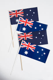 Aussie Flag Australian Flag Handwaver L Aussie Merchandise L Australia Day