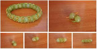 diy braided bracelet with beads images Diy braided bracelet with large beads tutorial jpg