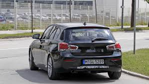 rear wheel drive bmw 1 series spied prepping for final facelift