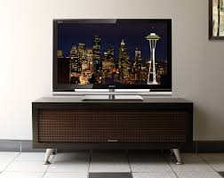 Midcentury Modern Tv Stand - image of small mid century modern media console tv stand with