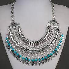 choker collar necklace vintage images 2016 bohemian jewelry gypsy ethnic choker collar vintage maxi jpg