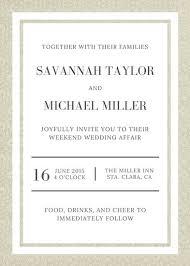 invitation template wedding 490 free wedding invitation templates
