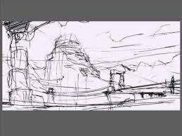 fantasy landscape tutorial part 1 youtube