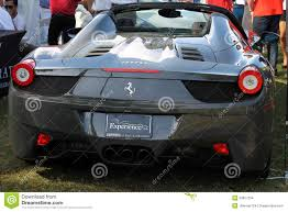 ferrari coupe rear ferrari rear end editorial stock image image 53857254