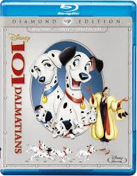 101 dalmatians blu ray diamond edition