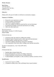 Teacher Resumes That Stand Out Sample Welder Resume Unforgettable Welder Resume Examples To