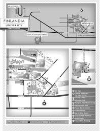 Usa Campus Map by Campus Map Finlandia University Finlandia University