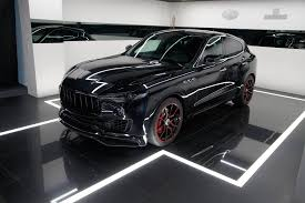 maserati kubang black startech u0027s maserati levante wants you to know it is your father