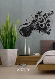 aliexpress com buy 70 u0027s inspired electric guitar cool wall decal
