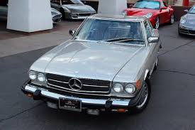 mercedes plaza motors 1987 mercedes sl 560 tempe arizona plaza motors inc