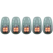 99 dodge ram led lights anzo usa dodge ram 2500 3500 99 02 l e d cab lights clear 5pc