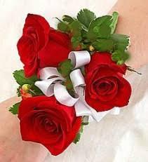 Red Rose Wrist Corsage Corsages Dietch U0027s Florist Fair Lawn Nj