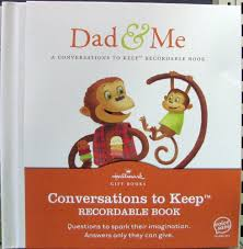 recordable books hallmark recordable books dig5609 and me conversations to