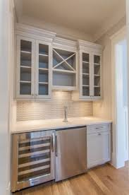 Built In Drinks Cabinet Gray Bar Nook Built In Creative Built In Design Pinterest