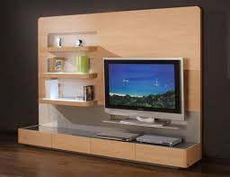 Tv Wall Furniture Wooden Finish Wall Unit Combinations From Hlsta Italian Modern