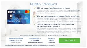 credit cards apply for a credit card online mbna