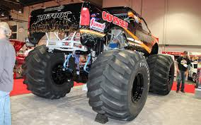 monster truck bigfoot bigfoot goes electric with odyssey batteries truck trend news