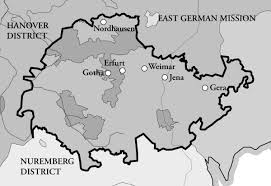 Weimar Germany Map by Weimar District Religious Studies Center