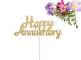 170 Wedding Anniversary Greetings Happy Happy Anniversary Cake Topper Anniversary Cake Topper