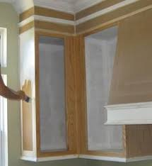 Adding Trim To Kitchen Cabinets by Cabinet Door Refinish U2013 Adding Trim Kitchens Kitchen Cabinet
