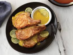 pork chops with spicy turmeric sauce pork recipes pork be inspired