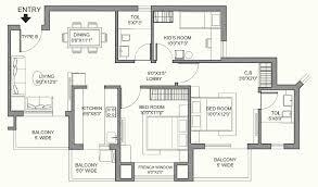 window in plan casa greens floor plan