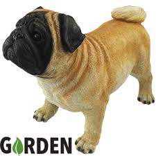 buy garden ornament the pug at home bargains