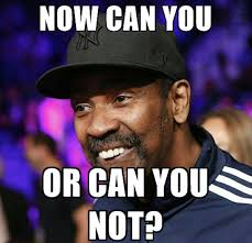 Mad Meme - denzel washington is definitely mad about being a meme spin