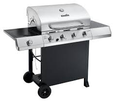 Char Broil Outdoor Patio Fireplace by 4 Burner Gas Grill Outdoor Cooking Station Stainless Steel Lid