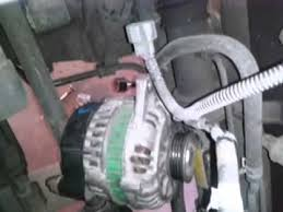2001 hyundai santa fe alternator replacement removing alternator and replacement alternator 2002 hyundai