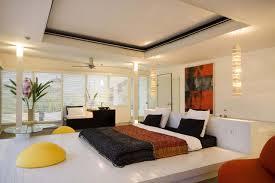 good bedroom ideas textured brown bedsheet bright pink wall paint
