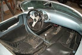 porsche speedster interior beck replica 1955 porsche 550 spyder