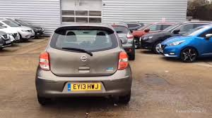 nissan micra 2013 nissan micra elle silver 2013 youtube