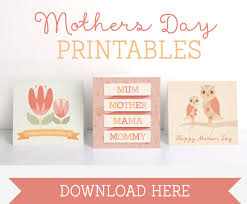 free printable mothers day cards tinyme