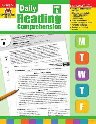 daily reading comprehension grade 5