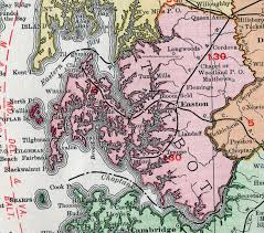 easton map talbot county maryland map 1911 rand mcnally easton st