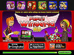 jeux de cuisine papa louis poulet papa s wingeria un des jeux en ligne gratuit sur jeux jeu fr