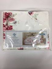 Shabby Chic Floral Bedding by Pink Rose Sunbleached Floral Twin Duvet Cover 1 Sham Simply Shabby