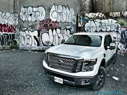 nissan titan hood scoop 2016 nissan titan xd review not quite hd pickup makes cannonball