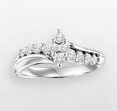 kohl s wedding rings the cherish always ring gold rings white gold and ring