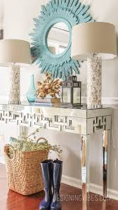 Entryway Console Table by Room Console Tables Rivet Modern White Console Table With Storage