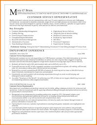 customer service representative resume sle customer service representative resume exles exles of career